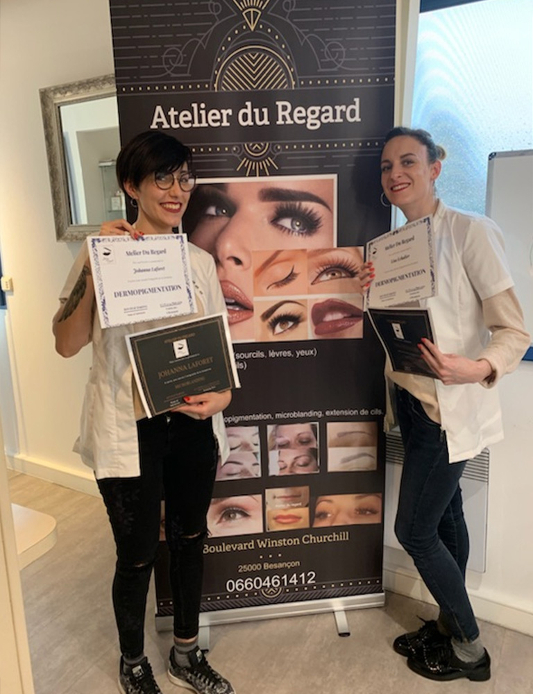 experte maquillage permanent
